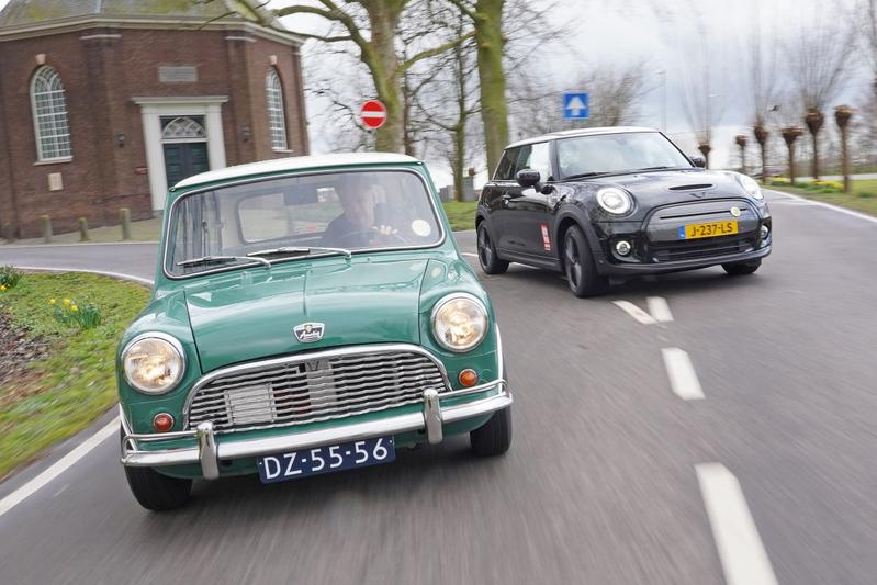 Mini Electric (2021) – Electric Mini (1963) - Reportage