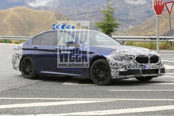 Gesnapt: gefacelifte BMW 5-serie