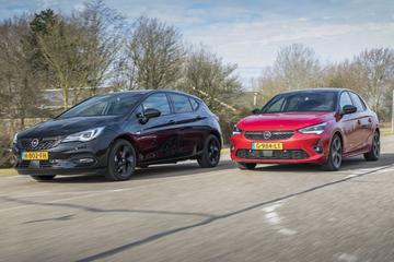 Opel Corsa vs. Opel Astra - Klassenstrijd