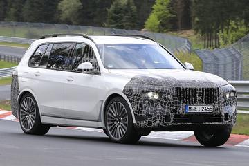 BMW X7 krijgt compleet nieuwe voorkant