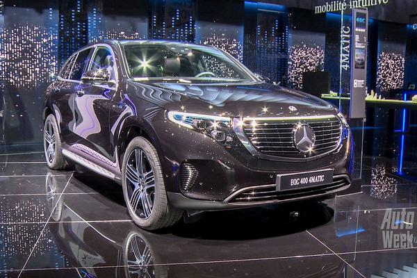 Video: Mercedes-Benz EQC - Parijs 2018 Special