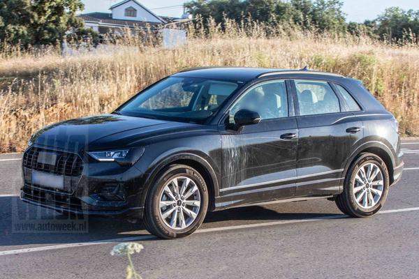 Nieuwe Audi Q3 bijna ongecamoufleerd