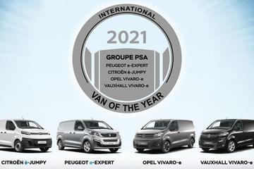 PSA-drieling uitgeroepen tot 'International Van Of The Year'