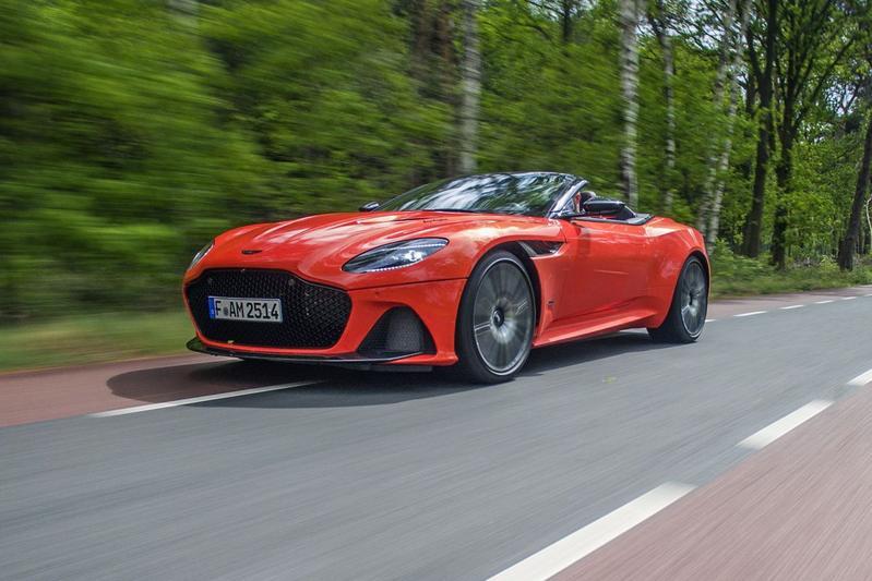 Aston Martin DBS Superleggera Volante - Rij-impressie