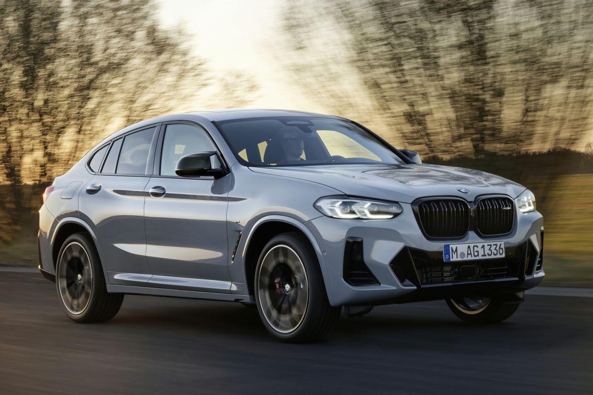 BMW X4 facelift