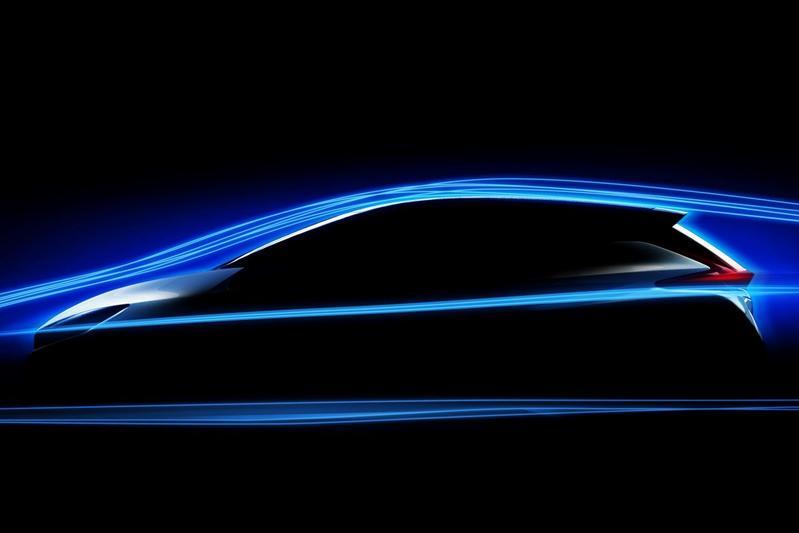 Nissan Leaf opnieuw geteased
