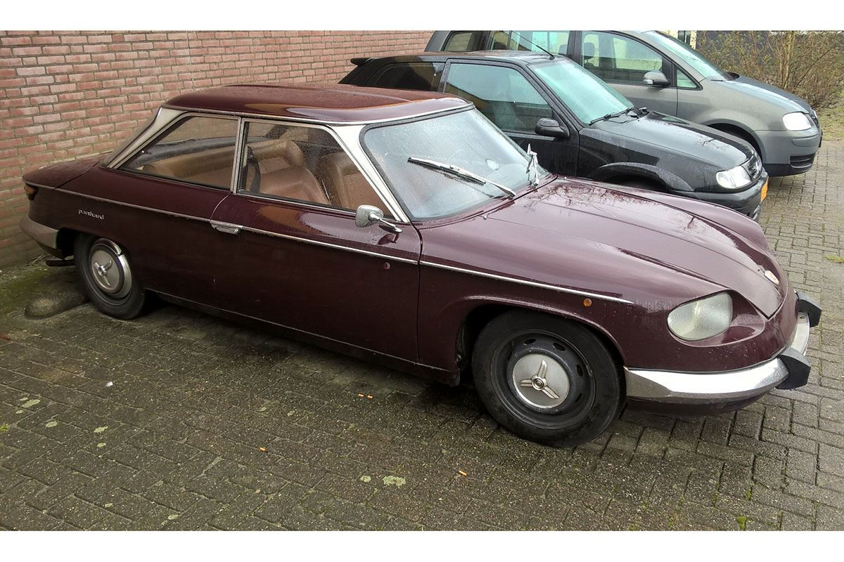 in het wild panhard 24 bt 1971 autonieuws. Black Bedroom Furniture Sets. Home Design Ideas