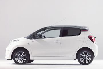Subtiele wijzigingen Citroën C1