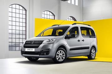 Nóg een nieuwe Opel Combo Life