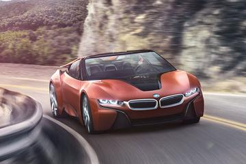 'BMW i8 Spyder komt in 2018'