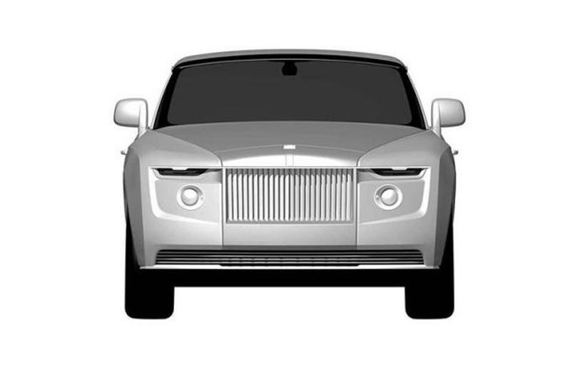 Rolls-Royce concept patent