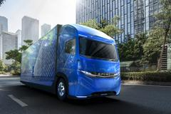 Daimler toont Mitsubishi E-Fuso Vision One