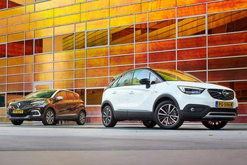 Opel Crossland X vs. Renault Captur - Dubbeltest