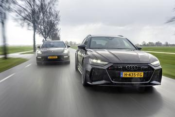 Audi RS 6 Avant - Porsche Panamera Turbo S E-Hybrid Sport Turismo - Dubbeltest
