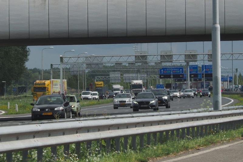verkeer snelweg A2