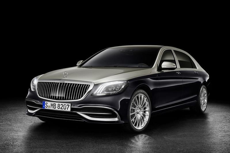 Aangescherpte Mercedes-Maybach S-klasse in beeld