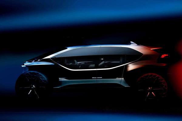Audi neemt AI:Trail Quattro mee naar IAA
