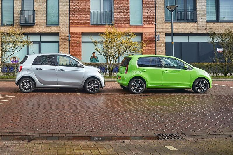 Skoda Citigo iV vs. Smart Forfour EQ - Dubbeltest