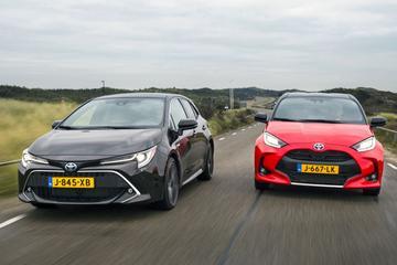 Test: Toyota Yaris vs. Toyota Corolla