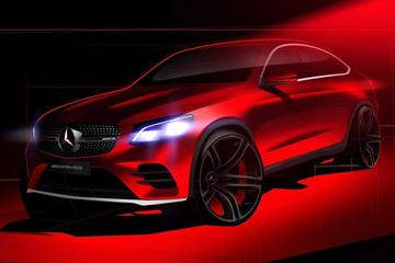 Mercedes teast AMG-achtige GLC coupé