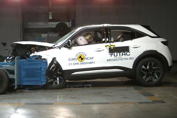 Euro NCAP Opel Mokka