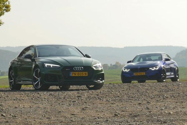 Video: Audi RS5 vs BMW M4 CS - Dubbeltest