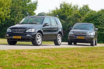 Mercedes-Benz ML 350 vs. Lexus RX 300 - Occasiondubbeltest