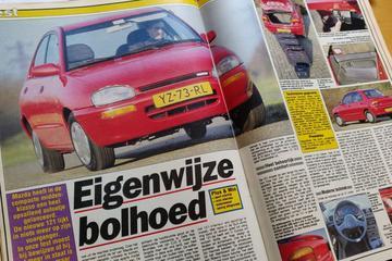 Mazda 121 GLX rijtest - Uit de Oude Doos