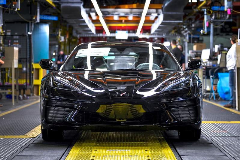 Corvette Stingray Kentucky fabriek productie