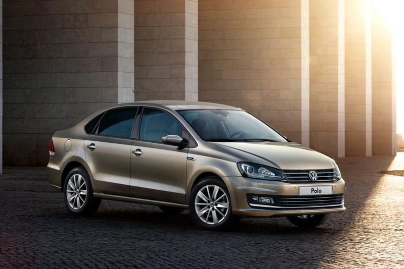 Russische Volkswagen Polo sedan gefacelift