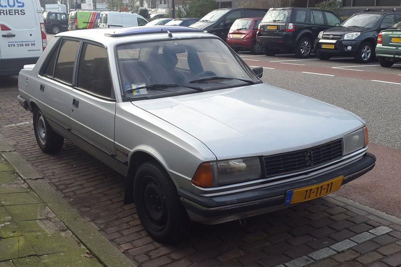 In het Wild: Peugeot 305 (1987)