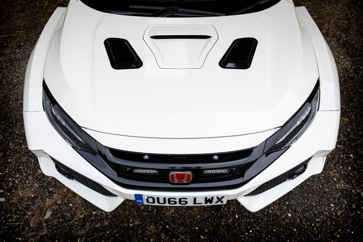 Honda Civic Rally Type-R engeland