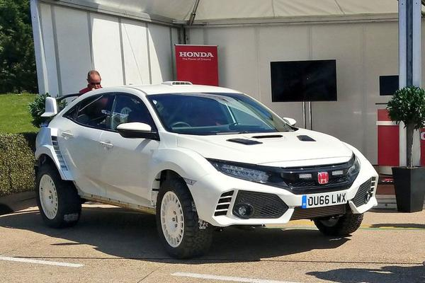 Heftig: Honda Civic 'Type-oveRland'