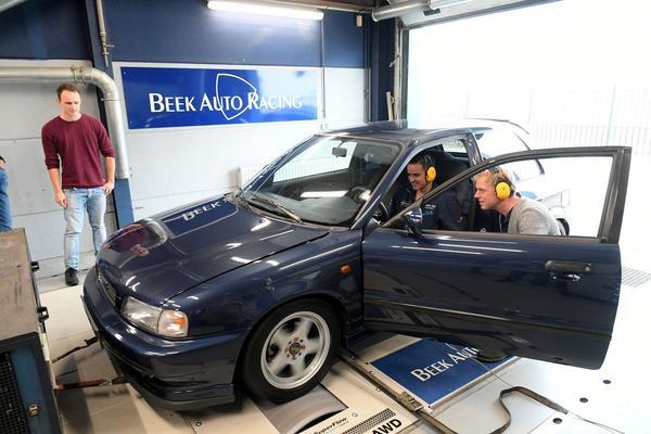 Suzuki Baleno op de Rollenbank