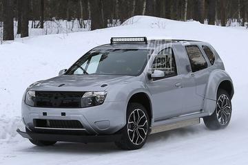 Elektrische Dacia Duster gesnapt