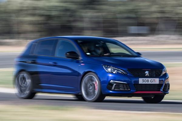 Peugeot schroeft vermogen 308 GTI terug