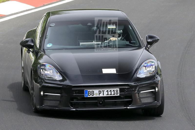 Porsche Panamera facelift spyshots
