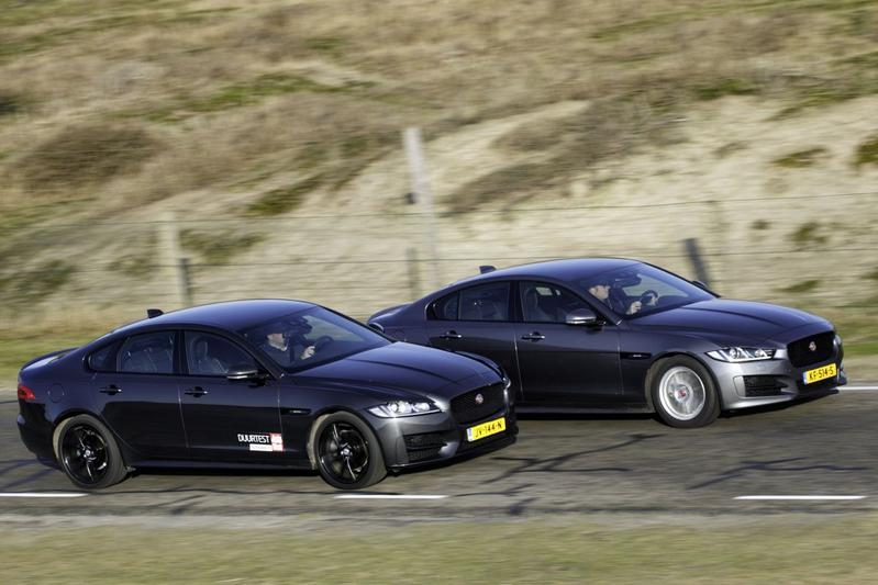 Jaguar XE - Jaguar XF