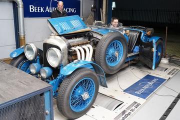 Bentley 4½ Litre 'Bluebell' (1929) - Op de Rollenbank