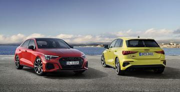 Prijzen nieuwe Audi S3 Sportback en S3 Limousine bekend