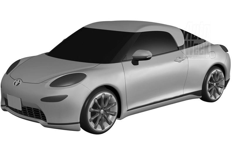 Toyota patentschets