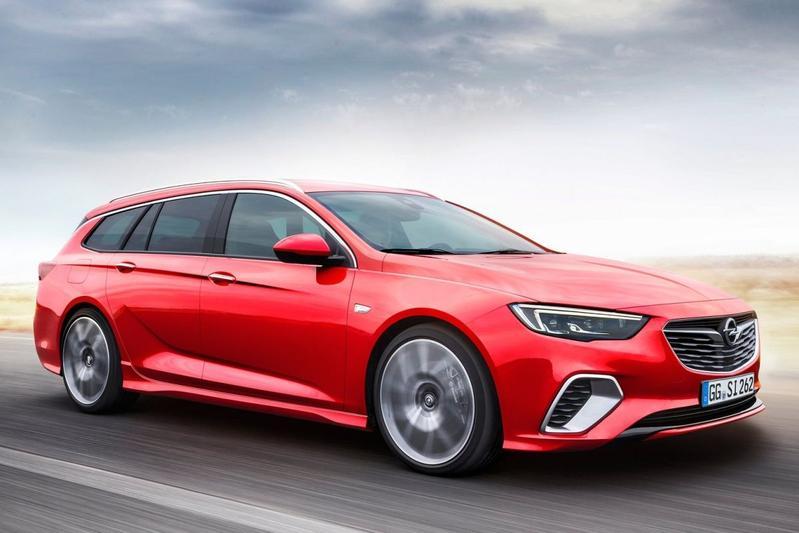 Opel Insignia Sports Tourer GSi gepresenteerd