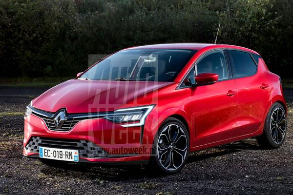 Renault Clio Blik to the Future render Avarvarii
