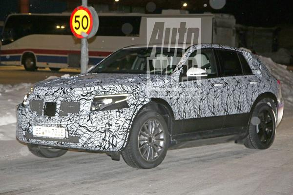 Spyshots Mercedes-Benz EQ C