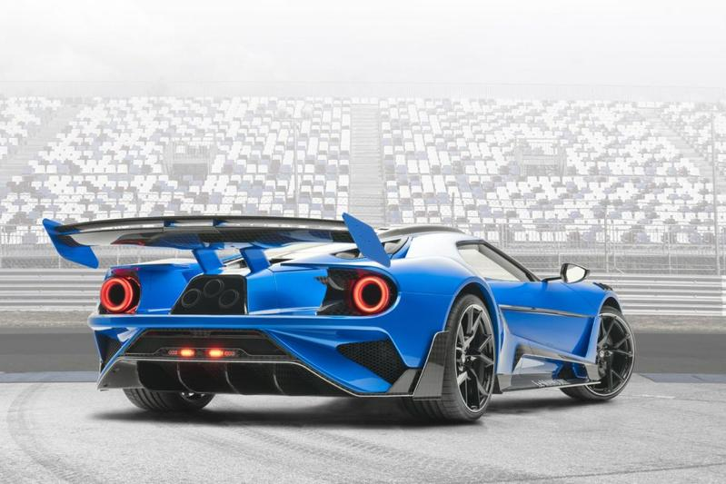 Le Mansory is extreem vertimmerde Ford GT