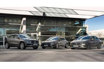 Prijzen voor plug-in versies Mercedes-Benz CLA, GLA en B-klasse