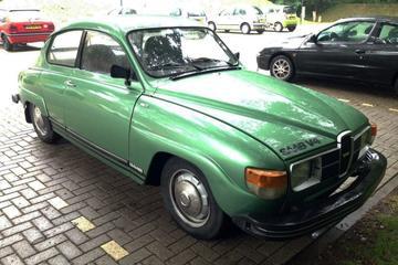 In het Wild: Saab 96 (1980)