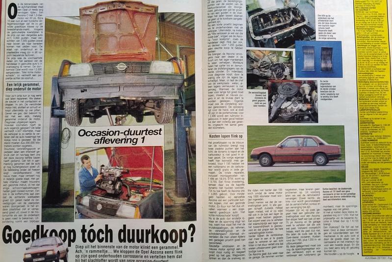 Opel Ascona Oude Doos