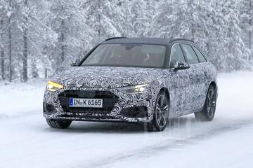 Opmerkelijk: een nieuwe Audi A4 Avant gespot