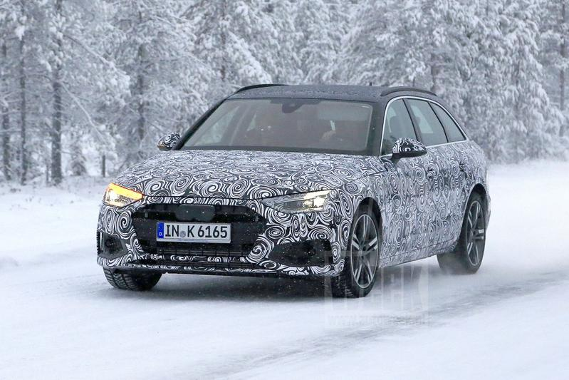 Audi A4 Avant spionage